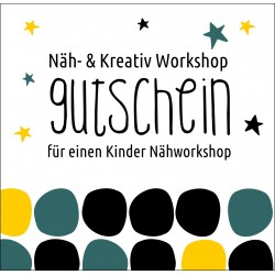 Gutschein Kinder Nähworkshop