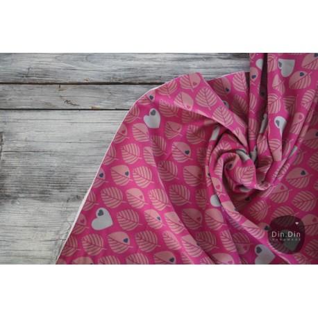 Sweat by Graziela Blätter pink/fuchsia