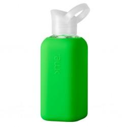 Trinkflasche Glasflasche 0,5l, Neon Green