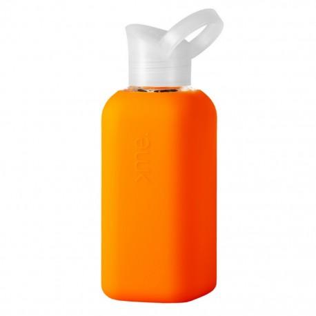 Trinkflasche | Glasflasche 0,5l, Neon Orange
