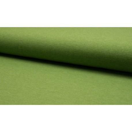 Poly Jersey meliert - pistazie, grün