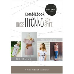 Kombi-E-Book Kleid/Shirt Miss & Kids Mekko