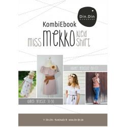 Kombi-E-Book Kleid/Shirt Miss & Kids Mekko