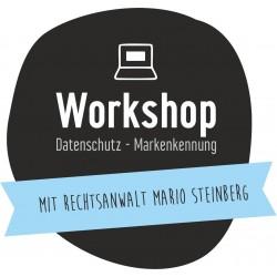 Workshop - Datenschutz, Werbung, Markenkennung