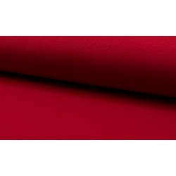 Feinstrick Bündchen glatt, rot