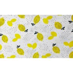 Baumwolljersey - Lemon, Zitrone