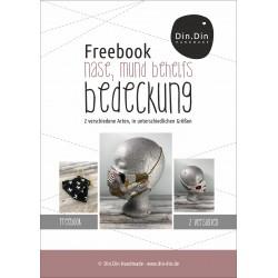 Freebook Behelfs-Nasen-Mund-Bedeckung