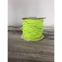 Gummikordel glänzend 3mm, neongelb