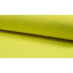 Neon Rib Bündchen neongelb
