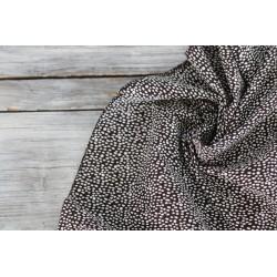 Baumwolle - Dots schwarz/weiß