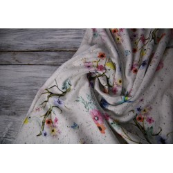 Sweat French Terry - Loopback Flowers