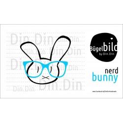 Bunny Nerd mit Brille