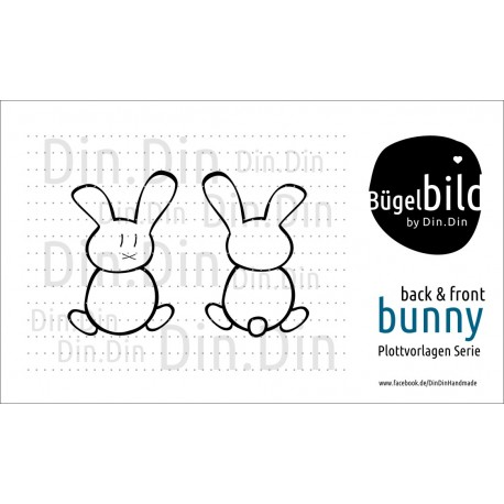 Bunny Back & Front